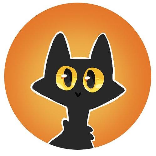Original Art, Black Cat