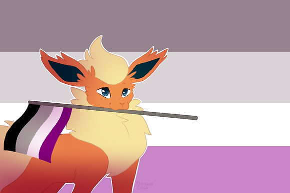 Flareon, Asexual Flag (A6)