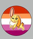 pride bunnies lesbian button.jpg