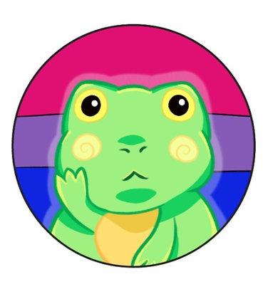 Frog Pride Bisexual