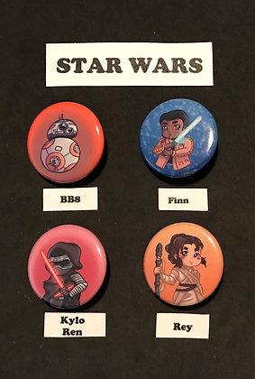 Star Wars (Button Set)