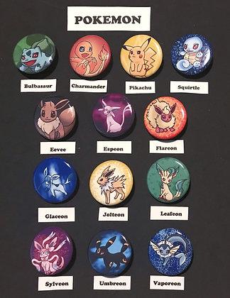 Pokemon (Button Set)