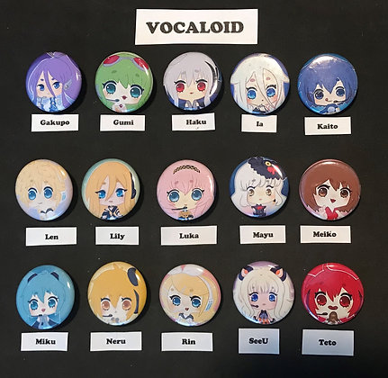 Vocaloid (Button Set)
