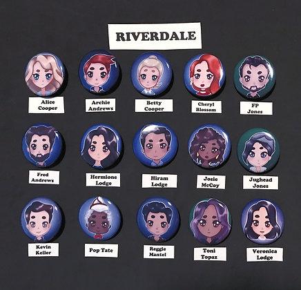 Riverdale (Button Set)