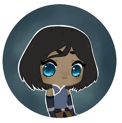 Legend of Korra, Korra (short hair)