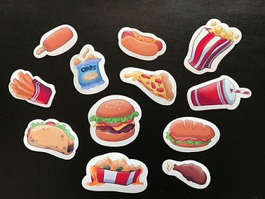 junk food stickers individual group 1.jp
