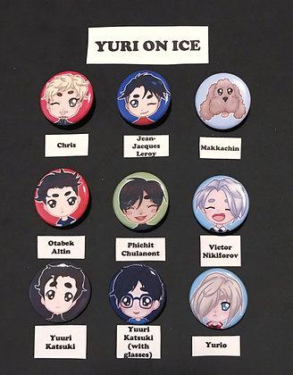 Yuri on Ice (Button Set)