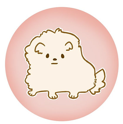 Original Art, Fluffy Dog