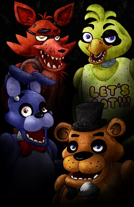 Five Nights at Freddy's (A3)