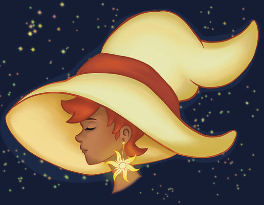 Witchtober, Day 5-Sun
