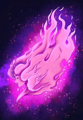 Purple Flamethrower (Wallpaper/ Computer)