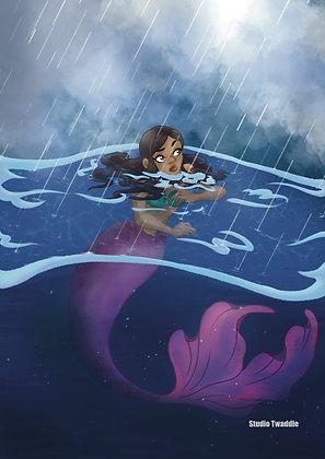 Mermay 2021: Rain (May 21) Print