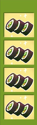 Sushi Bookmark