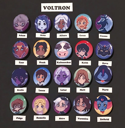 Voltron (Button Set)