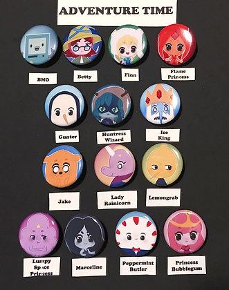 Adventure Time (Button Set)