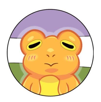 Frog Pride Genderqueer