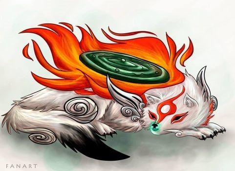 Okami, Amaterasu and Issuu (A3)