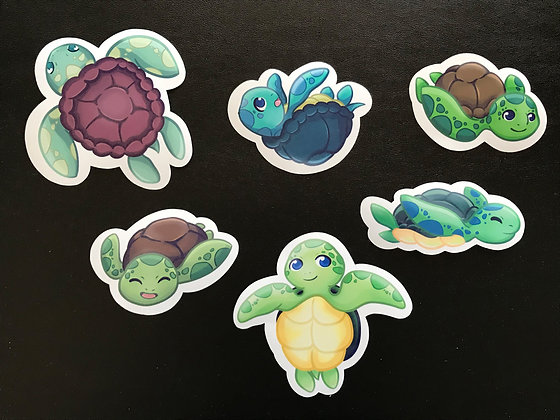 Turtle Stickers