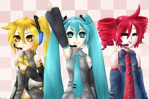 Vocaloid, Triple Baka (A3)