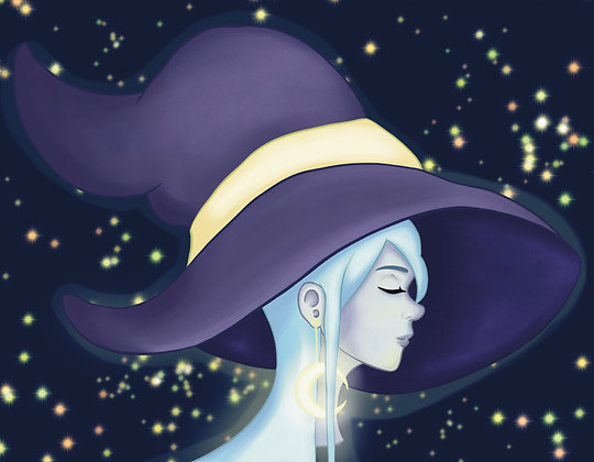 Witchtober, Day 6-Moon