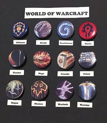 World of Warcraft (Button Set)