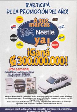 A Sus Marcas Nestle Ya