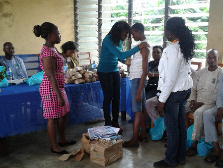 ASHA's Global Programmes Director Presents Awards to Girls in Correctional Centres