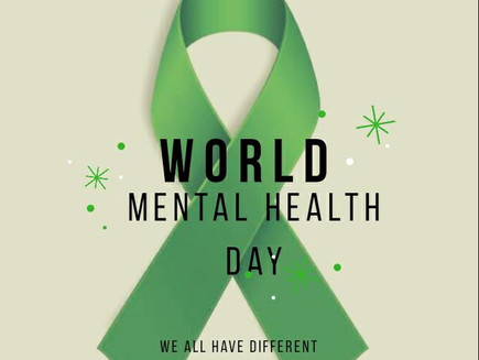 ARE YOU OK? - World Mental Health Day