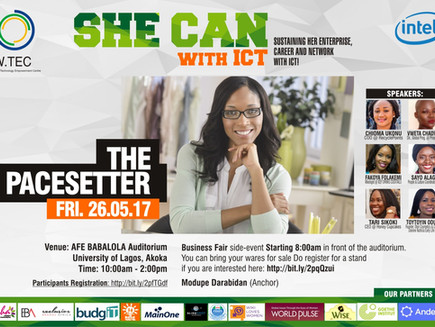 Grand Finale of She Can With ICT Project