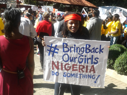 ASHA's Global Programmes Director Joins Bring Back Our Girls Protest March in South Africa