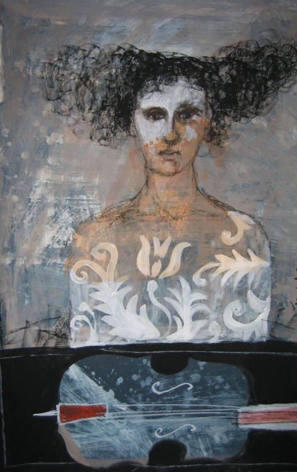 Painting by Małgorzata Lazarek