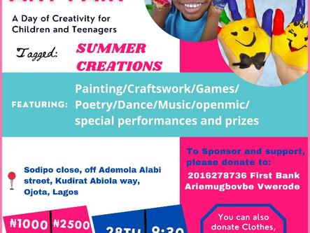ASHA Art Fair For Kids In Lagos State