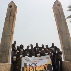 #BlackHistory Month - ASHA's EWOF Sheros visit Badagry