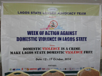 ASHA Commemorates this year's week of action against domestic violence