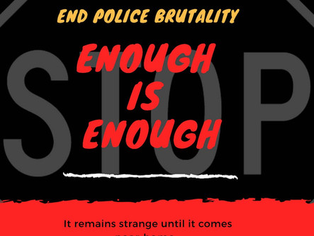 Stop Police Brutality And Misconduct