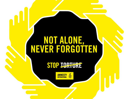 Rights is right for all Humans – A solidarity walk against torture