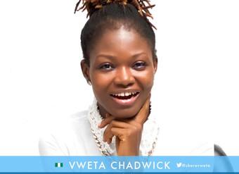 Vweta Chadwick Selected for Mandela Washington Fellowship