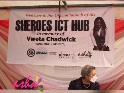 The Vweta Chadwick 'Sheroes ICT Hub' Launch