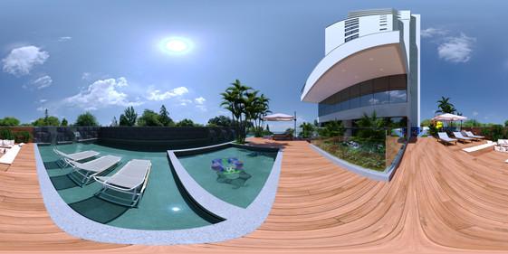 Piscina Externa 360°