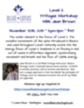 BL Nov 30 2019 Level 2 Workshop jpeg fly