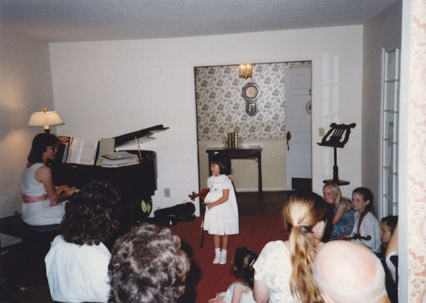 Erika's first recital