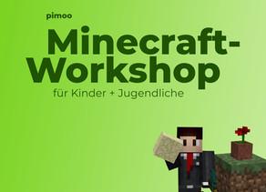 Minecraft-Workshop für Kinder + Jugendliche