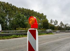 Baumaßnahme ab 7. September an der Lärmschutzwand der B455 – temporäre Straßensperrungen