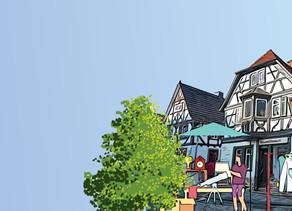 Flohmarkt in Oberursels Altstadt-Höfen + Karte mit allen Höfen!