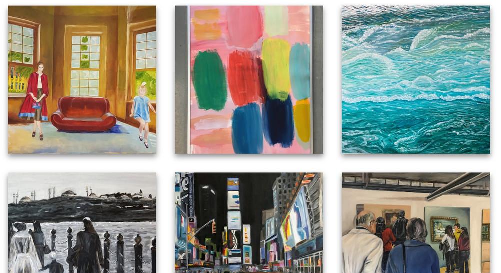 """Online Ausstellung """"Lieblingswerke"""" ab dem 08. März 2021"""