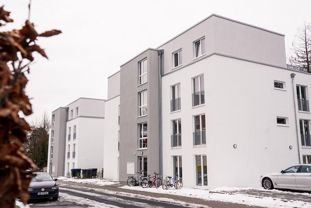 22 mietpreisgebundene Wohnungen in der Geschwister-Scholl-Straße sind jetzt bezogen