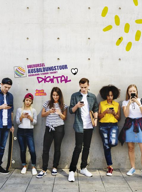 """Ausbildungstour 2021 """"Digital"""". Jetzt einfach online bewerben!"""