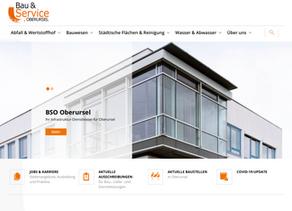 Neuer Internetauftritt der BSO Homepage