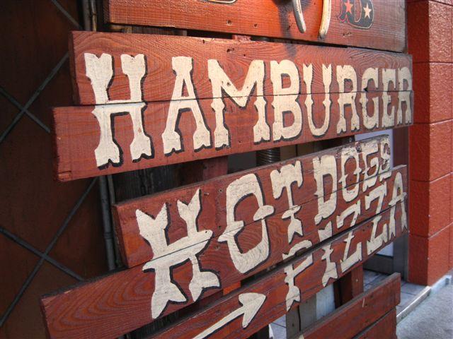 handmade sign