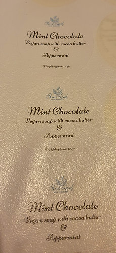 Mint chocolate soap
